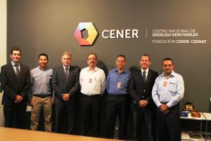Visita de la VISITA de la Corporación Mejicana de Investigación en Materiales -COMIMSA- (México)