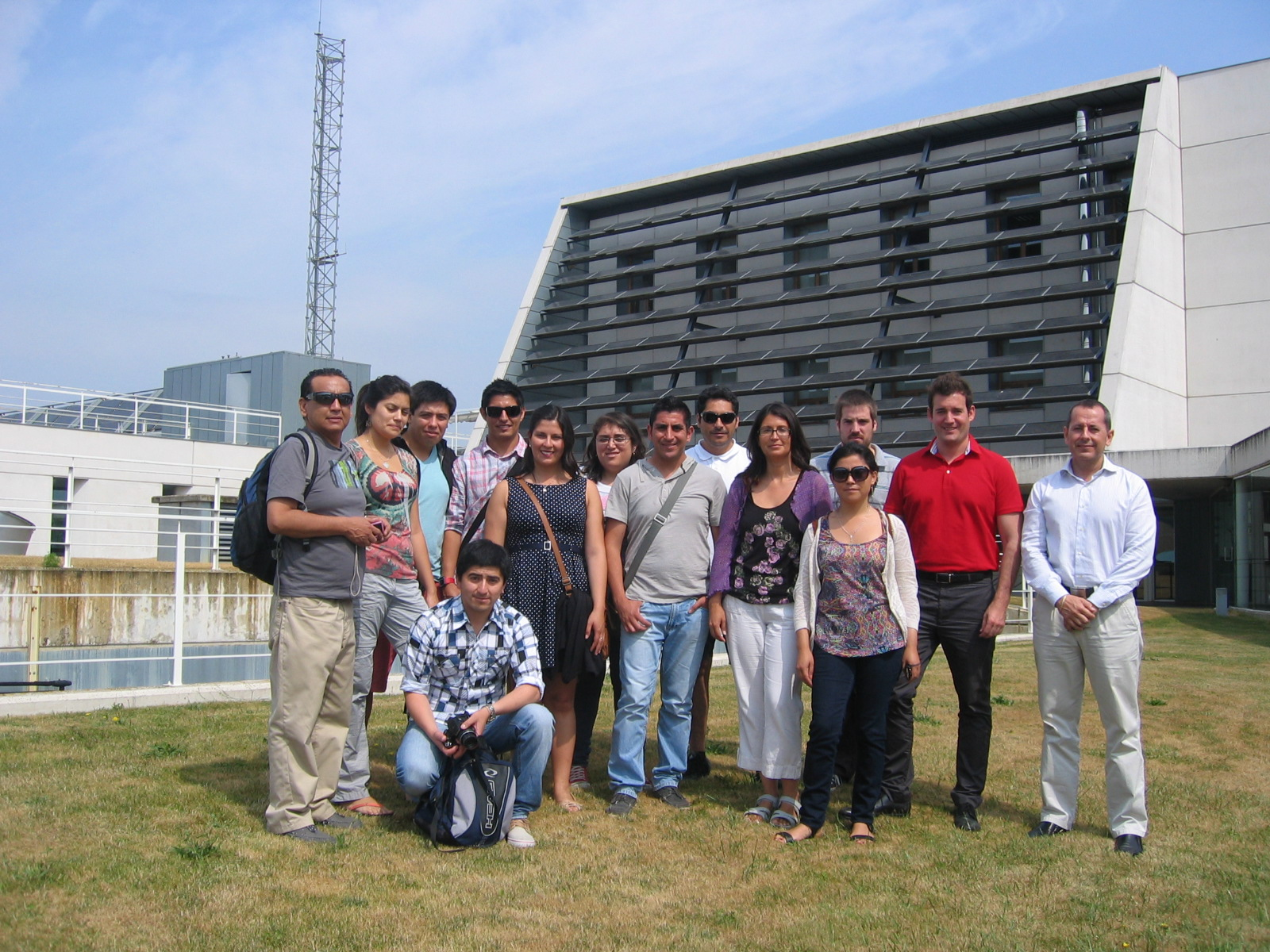 Visita de estudiantes chilenos del Instituto de FP Superior de Usúrbil (Guipúzcoa)
