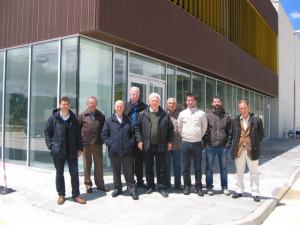 Visita técnica del Colegio de Ingenieros Industriales de Navarra al Centro de Biocombustibles de 2ª Generación