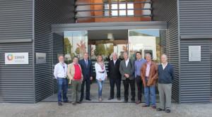 Visita del Colegio Oficial de Ingenieros Industriales de Navarra