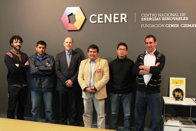 Visita de instituciones energéticas de Ecuador