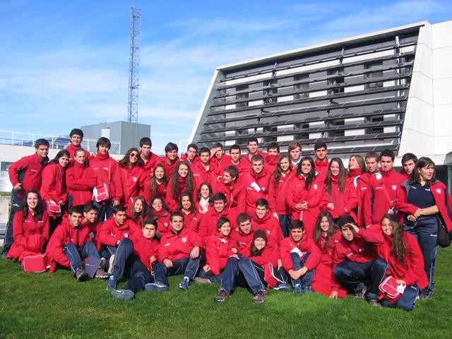 Visita de 54 jóvenes de Chile de la Asociación Estadio Español de Las Condes