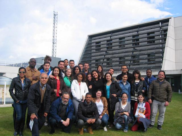 Visita alumnos del Máster en Tecnología y Gestión de la Edificación de la Universidad de Cantabria