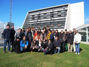 Visita de los alumnos del Máster de Arquitectura y Sostenibilidad de la Universidad Politécnica de Cataluña
