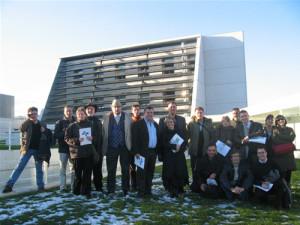 "Asistentes al Seminario Europeo ""Sumando energías frente al cambio climático"""