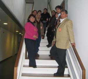 Visita de una delegación de CONAMA Chile