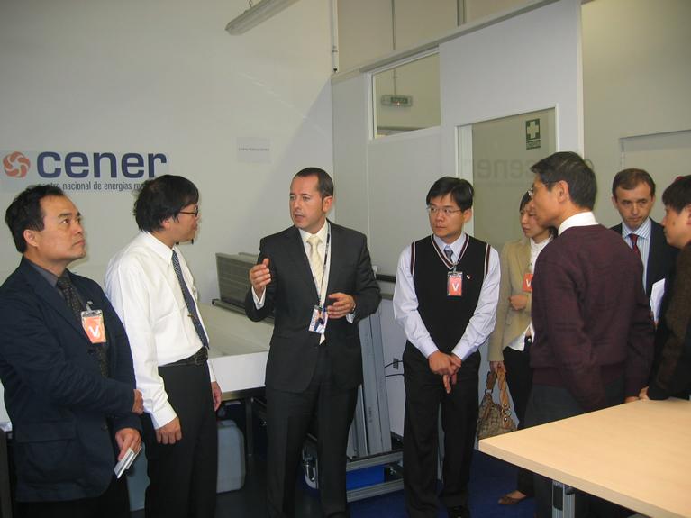 Visita de representantes del Gobierno de Taiwán