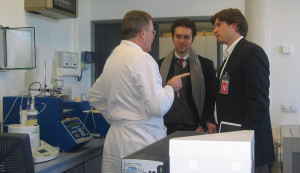 US PhD students visit CENER