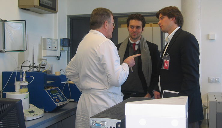 Doctorandos USA visitan CENER