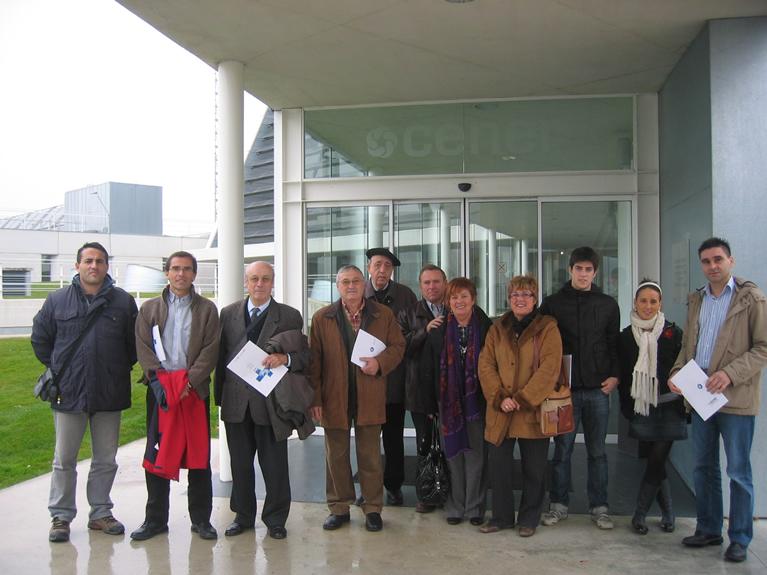 Visita de representantes de Centros Europeos de Empresas