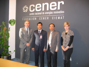 Visit by directors from the energy institute of Vietnam