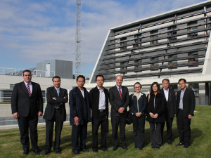 Visit from Thai energy companies