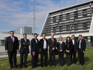 Visita de empresas energéticas de Tailandia