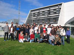 Visita de estudiantes del último curso de Bioquímica de la Universidad de Navarra