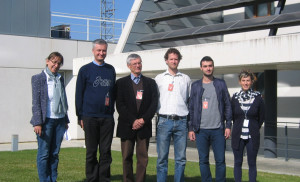 Visit by members of the BIOCLUS Project