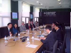 Delegación china - CRESP & SINO-DANISH BIOMASS CDM project