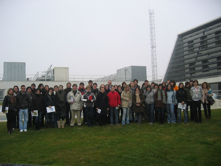 Visita de la Facultad de Medicina - Dpto. de Microbiología y Parasitología de la Universidad de Navarra