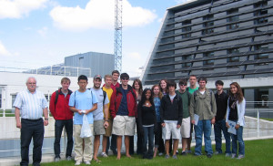 Visita de alumnos estadounidenses de Pamplona Learning Spanish Institute.