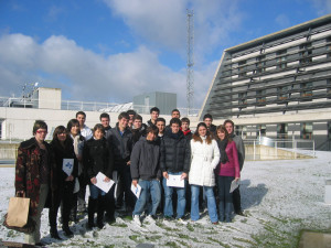 Visit by students from the Foro Europeo Forum Business School