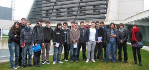 Visita alumnos IES Basoco.
