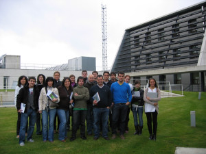 Visit by Construction Engineering Students from Navarra University