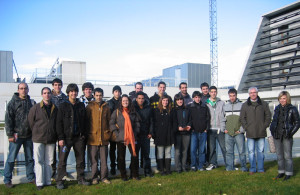 Visit by students from the Construction Institute of Vitoria.