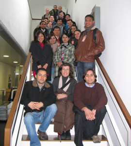 Engineers, master´s degree renewable energies students from different Spanish universities visited CENER this morning.