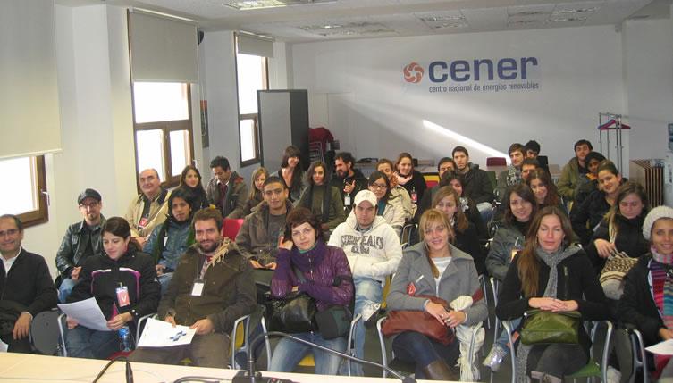 Visita de los alumnos del Master en Arquitectura y Sostenibilidad de la Universidad Politécnica de Cataluña