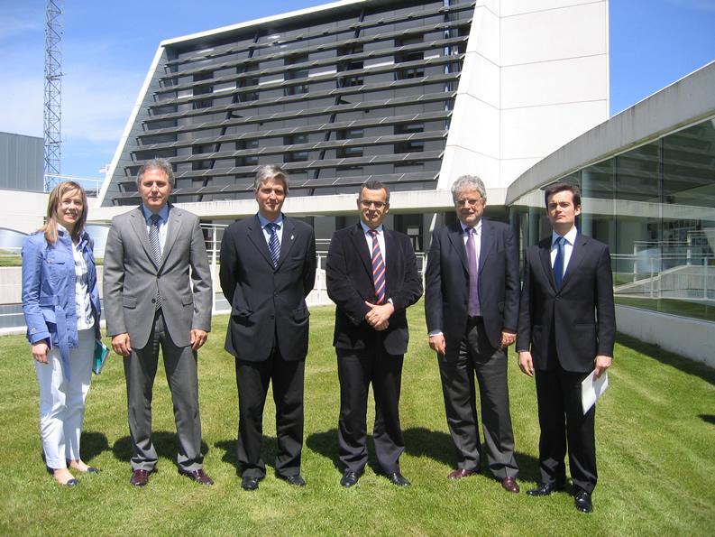 Visita del Director Regional de Energía del Gobierno de Azores y del Administrador-Delegado de ARENA