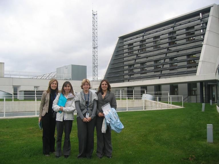 Visita de representantes de CONAMA de Chile
