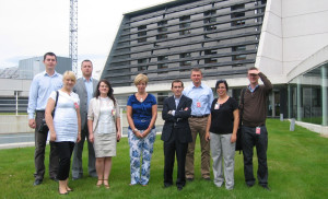 Visit by representatives from institutions and universities from the Polish town of Lodz.