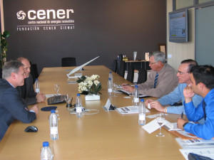 Visit by directors from the Puerto Rico Renewable Energy Centre (PREC).