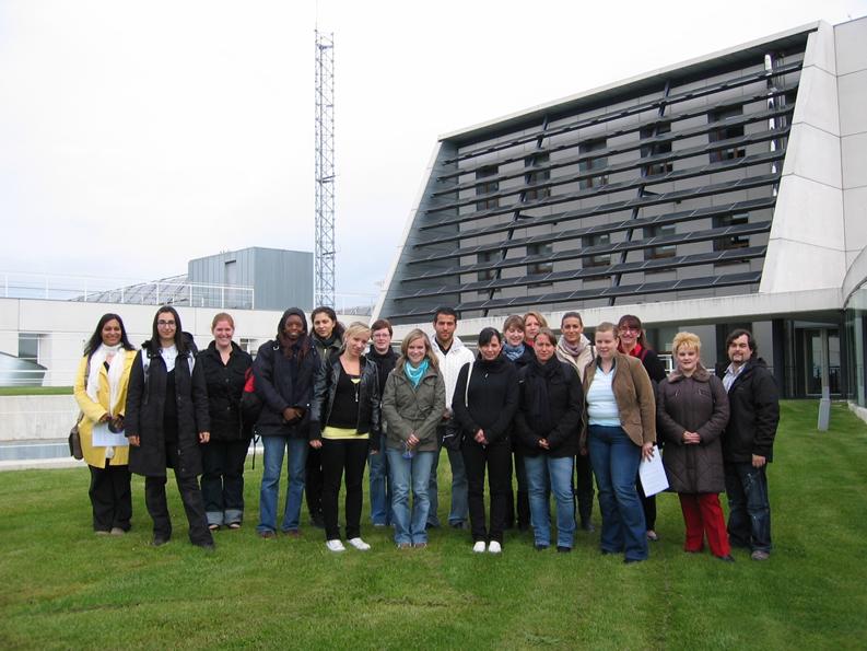 Visita de un grupo de estudiantes universitarios alemanes que participan en un curso del Foro Europeo