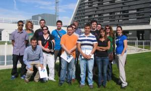 Estudiantes de la Escuela Universitaria EXITAE
