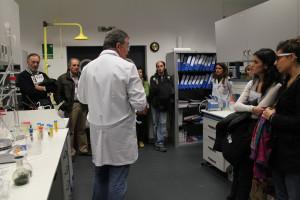 Participantes en la sesión vespertina de la Jornada de Puertas Abiertas organizada en CENER con motivo de la Semanas de la Ciencia.