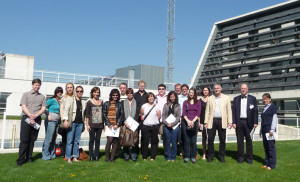 Visit by participants from the European Brain Flow project, with representation from the regional governments of Navarra, North Rhein Westfalia (Germany), Gelderland (Holland), Overijssel (Holland), Basil (Switzerland), Varmland (Sweden), Hedmark (Norway) and Nemunas (Lithuania).