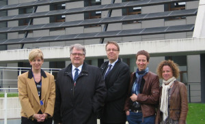 Visit by institutional representatives from the region of Tampere (Finland), accompanied by the Director of the Office of the Government of Navarra in Brussels and from the Navarra Agency of Innovation (ANAIN).