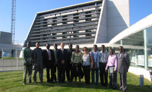 Visit by representatives from the Ministry of Energy of Gambia and from energy companies