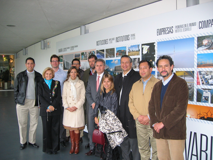 Visita de técnicos de vivienda de instituciones mejicanas a CENER