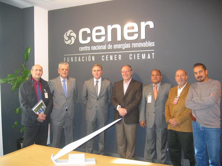 Rector y otros miembros del Rectorado de la Universidad de Bogotá