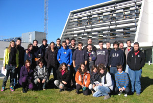 Visit from the students of the College of Engineering in Huesca (University of Zaragoza)