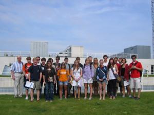 Visita de universitarios de USA que realizan un curso en Pamplona Learning Spanish Institute