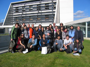 Students from the Master of Architecture and Sustainability from the Foundation of the Polytechnic University of Catalonia visit Cener.