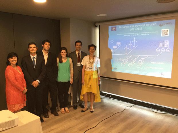 Workshop Final Del Proyecto LIFE ZAESS En Pamplona