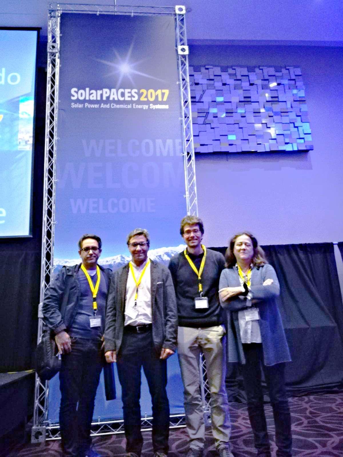 Sistemas De Predicción Solar O Para La Calibración De Helioestatos, Temas De Algunos De Los Proyectos Que Presentó CENER En SolarPACES 2017