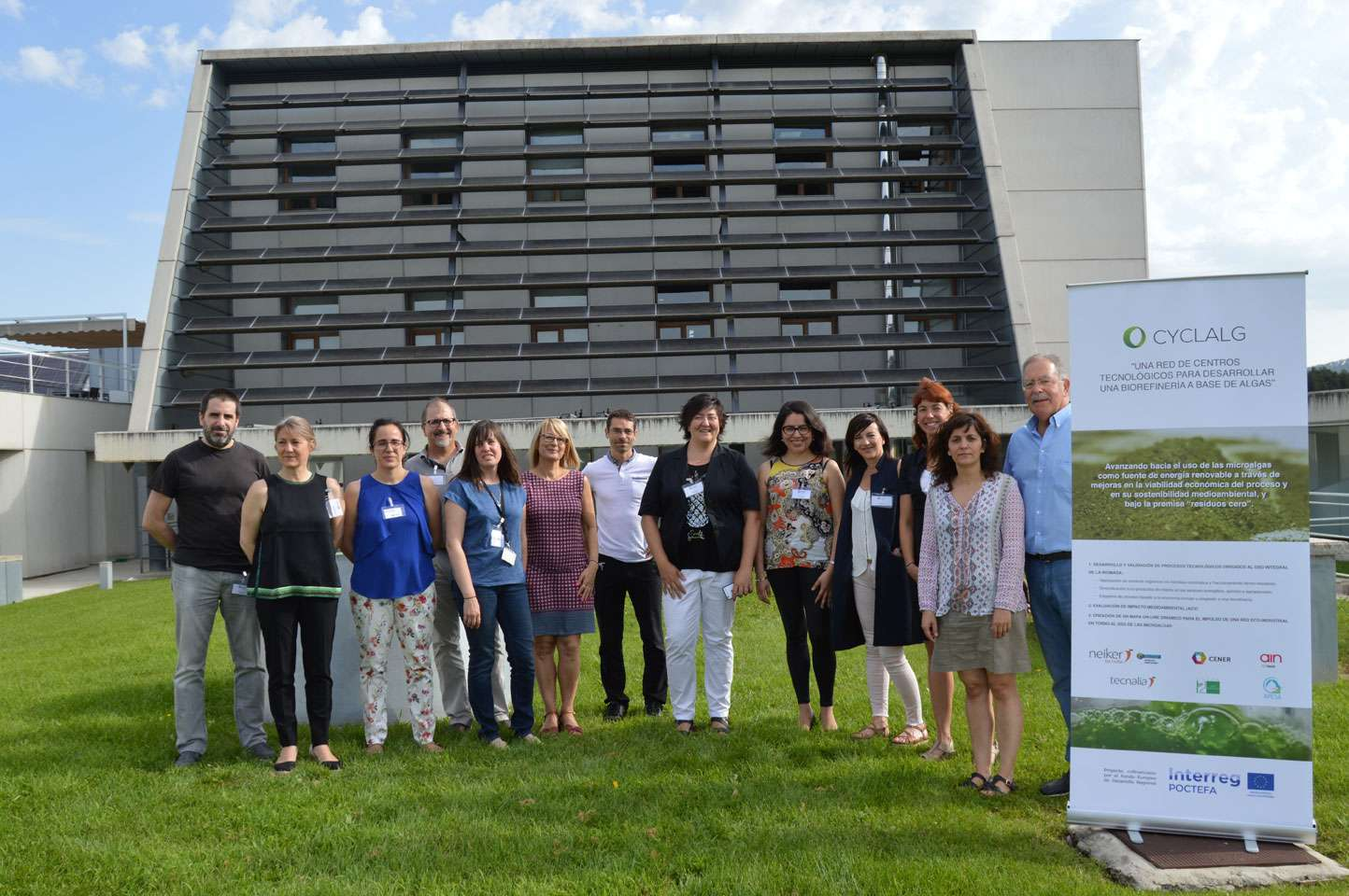CENER Obtiene Los Primeros Kilos De Biomasa De Microalgas, Como Parte De Su Trabajo En El Proyecto CYCLALG