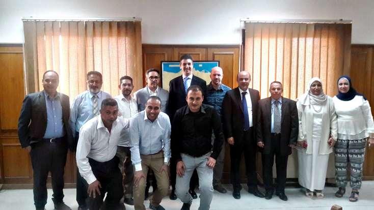 CENER Asesora A UNIDO En La Acreditación Y Desarrollo De Capacidades De Un Laboratorio De Componentes Solares En Egipto